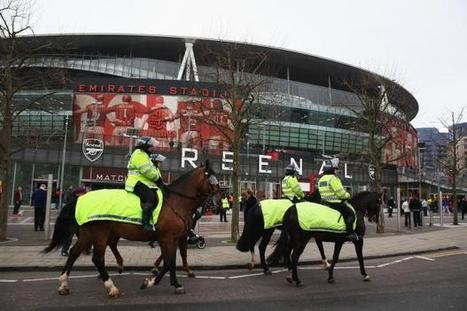 Hero cops tackled armed man in 'suicide vest' near Arsenal's stadium | Police Problems and Policy | Scoop.it