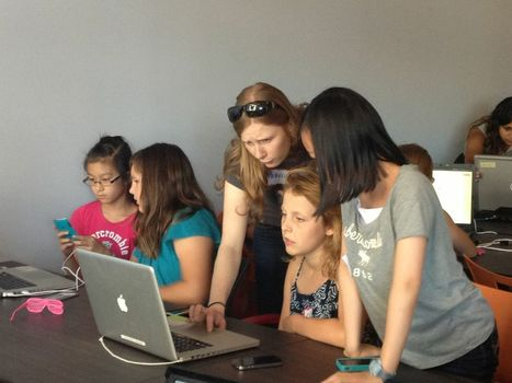 Girls Learning Code explores webmaking | Web Literacy | Scoop.it