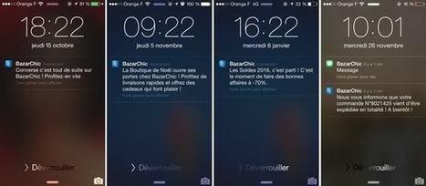 E-marchands : comment utiliser les push-notifications pour vendre plus | Digital & eCommerce | Scoop.it