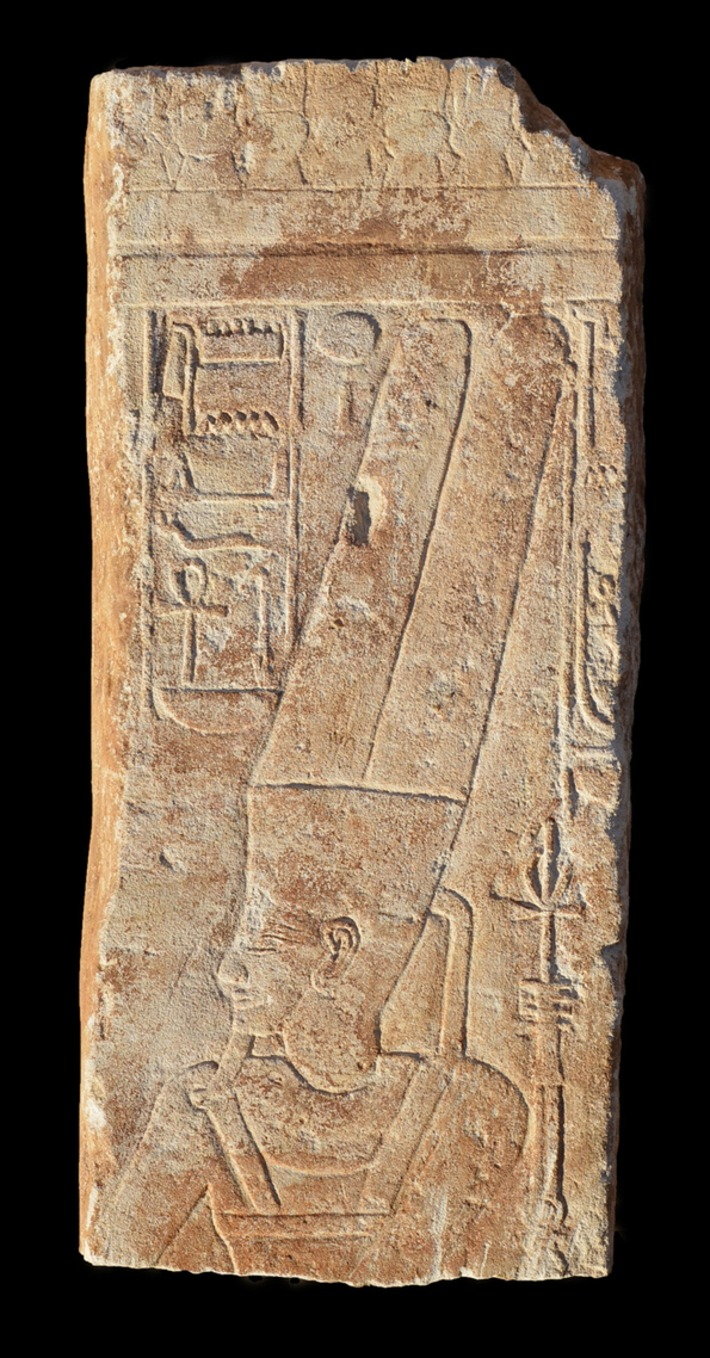Restored Image of Amun Discovered in Sudan - Archaeology Magazine | In The Name Of God | Scoop.it