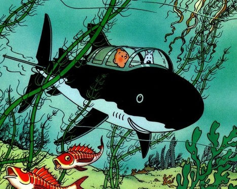 Tintin And The Copyright Sharks - Falkvinge on Infopolicy | Copyright and its Discontents | Scoop.it