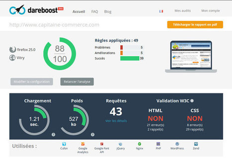 Testez les performances de votre site Ecommerce avec DareBoost   Webmarketing   Scoop.it