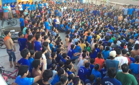 ICYMI: Over 1,000 Burmese workers strike at Thai tuna canning factory | Asian Labour Update | Scoop.it
