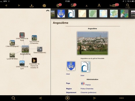 Pépites pour iPad (#003) : Wikilinks, Wikipedia en mieux ! | Cartes mentales, mind maps | Scoop.it