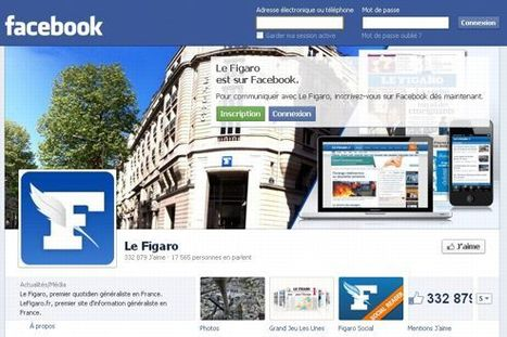 La presse comprend mieux Facebook | DocPresseESJ | Scoop.it