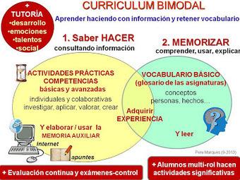 CHISPAS TIC Y EDUCACIÓN: Manual del currículum bimodal | web2.0ensapje | Scoop.it