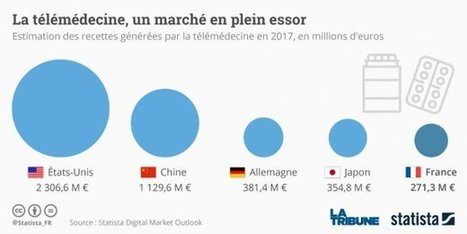 Télémédecine : les startups françaises entrent en compétition - La Tribune | 8- TELEMEDECINE & TELEHEALTH by PHARMAGEEK | Scoop.it