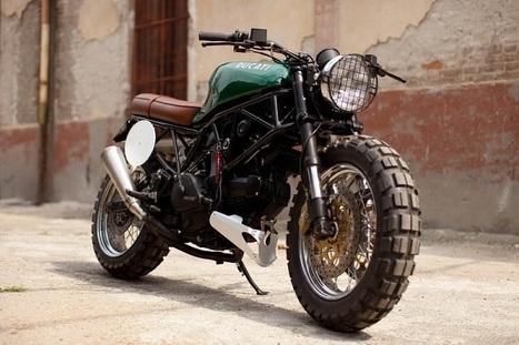 Custom Ducati 600 SuperSport | Gadgetfeast.com | Desmopro News | Scoop.it