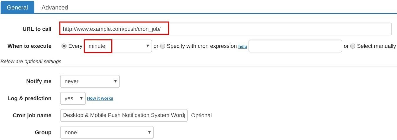 How to set up cron job for Desktop & Mobile...How to set up cron job for Desktop & Mobile Push Notification System WordPress Plugin - marketing - 웹