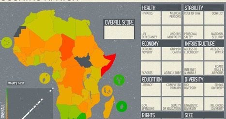 This Awesome Interactive Map Will Make You Think Twice About Africa | Geo-visualization | Scoop.it