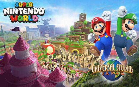 Primer vistazo al parque temático que Nintendo abrirá en Japón con atracciones de Mario y Donkey Kong | Creatividad en la Escuela | Scoop.it