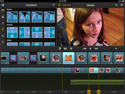 Digital Storytelling with Pinnacle Studio for iPad | iPad with Wes | Liberating Learning with Web 2.0 | Scoop.it