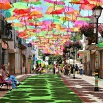 Colorful Umbrellas Installation | Art, Design and Imagination | Scoop.it