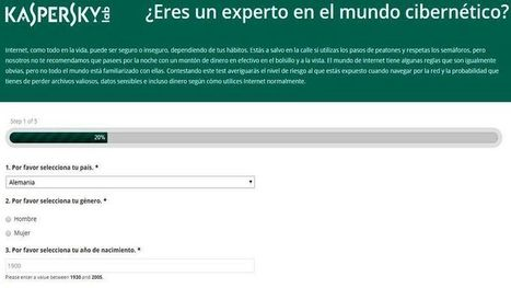 Test de Kaspersky para descubrir si eres vulnerable en Internet | Cibereducação | Scoop.it