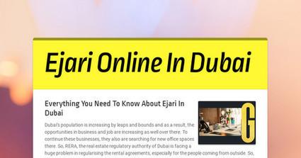 Ejari Office In Dubai | Business | Scoop it