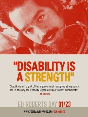 January 23rd is Ed... | Facebook | Living With A Disability | Scoop.it