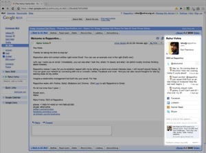 Rapportive : get rich contact profiles right inside Gmail   1Site2Day   Scoop.it