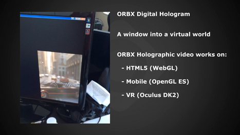 OTOY unveils holographic video, announces first commercial holographic display for early 2015 | TechWatch | Scoop.it