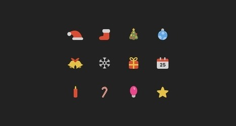 Christmas Icons | web design | Scoop.it