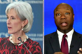 Sen. Scott: Will New HHS Secretary Just 'Carry Water for Obama?' | Mediaite | News You Can Use - NO PINKSLIME | Scoop.it