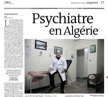 Psychiatre en Algérie | L'Algérie et la France | Scoop.it