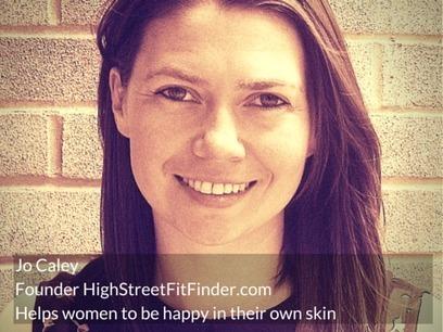 Jo Caley | Founder High Street Fit Finder | Ogunte | Women Social Innovators | Scoop.it