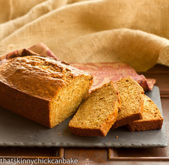 That skinny chick can bake!!!: Sweet Potato Bread...Improv Challenge | Food for Foodies | Scoop.it