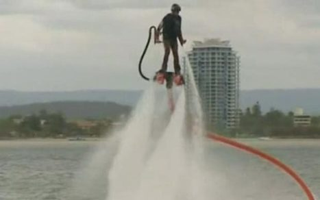 New extreme sport of Flyboarding takes off in Australia   Strange days indeed...   Scoop.it