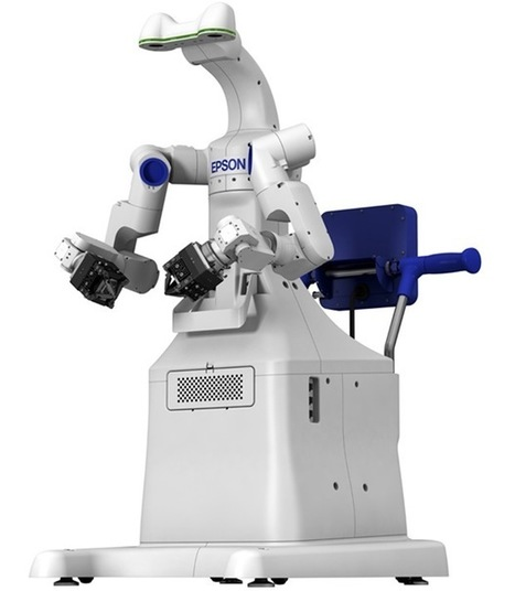 Seiko Epson Shows Off Its Dual-Arm #Robot I #automation   Cyborgs_Transhumanism   Scoop.it