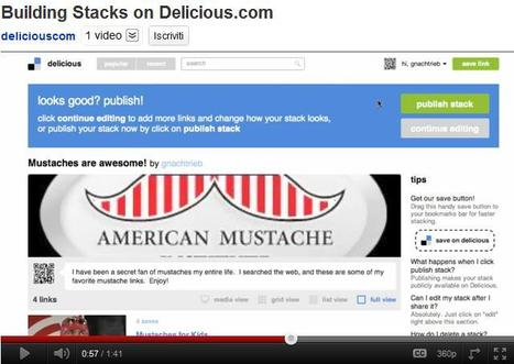 "New Delicious Launched Tonight: New Feature ""Stacks"" Collects Content with Curation 