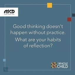 Reflective Teachers Are More Effective: Improvement Doesn't Happen by Accident   Nuts and Bolts of School Management   Scoop.it