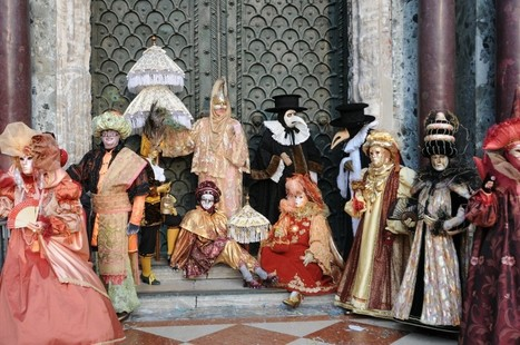 All About Carnival in Venice: Venetian Masks and More! | Italia Mia | Scoop.it