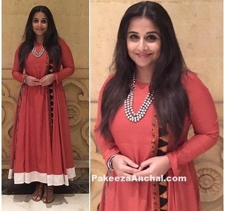 Vidya Balan Orange Salwar Suit by Natasha J, #ActressInOrangeDresses, #BollywoodActress, #BollywoodDesignerDresses, #BollywoodSalwarKameez, #CelebrityDresses, #CelebritySalwarKameez, #DesignerWear,... | Indian Fashion Updates | Scoop.it