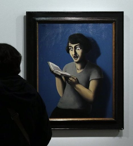 13 People Who Are Definitely Reading Books, Not Just Posing For A Painting | Google Lit Trips: Reading About Reading | Scoop.it