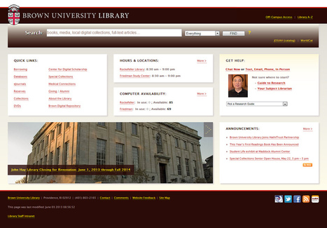 Melhores design e usabilidade de sites de bibliotecas   Moreno Barros   Biblos   Scoop.it