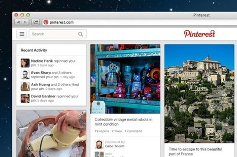 Pinterest expands layout, features for 'pinned' news articles   Everything Pinterest   Scoop.it
