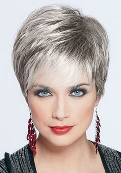 Very Short Hairstyles for Round Face Females: Cute Looks - Stylish Walks | Hair There and Everywhere | Scoop.it