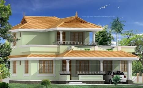 Traditional Kerala House Design With Charupadi