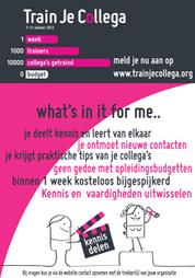 Train je collega: los organiseren en samen leren | Social learning - Het Nieuwe Leren | Scoop.it