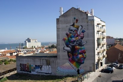 Lisbon, a city that is becoming a Streetartist's Canvas | Lisbon Lifestyle | Scoop.it