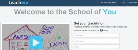 Teachem: diseñando lecciones completas con vídeos educativos | Las TIC y la Educación | Scoop.it