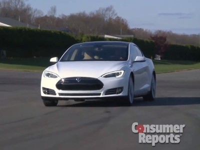 Tesla Model S Impresses the Unflappable Consumer Reports | Democritus | Scoop.it