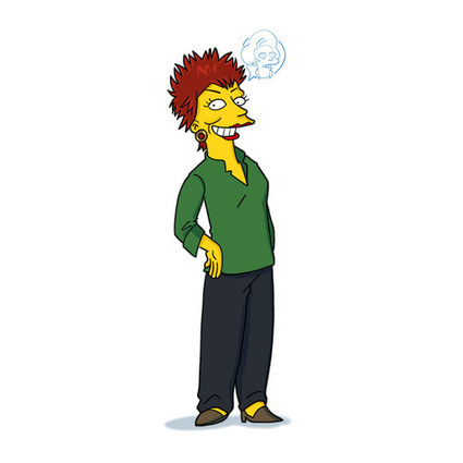 Hommage à Marcia Wallace | The simpsons | Scoop.it