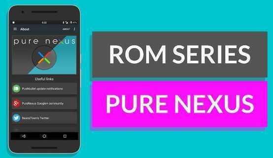 Download PURE NEXUS OS Final Stable MM 6 0 1 Ro