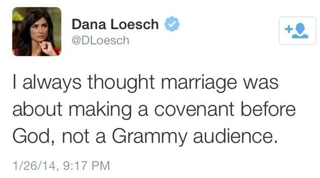 Projecting: Christian Conservatives Cry 'Discrimination' After Gay Grammy Weddings | Daily Crew | Scoop.it