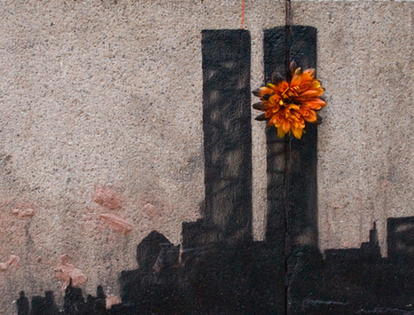 « Flower Tower » le nouveau Banksy en référence au 11 septembre | Vusdafrique | Scoop.it