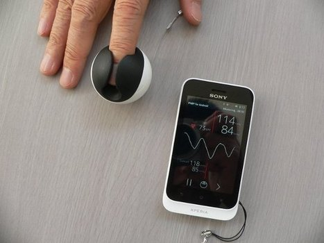 ICMe Cuffless Finger Blood Pressure Monitor Sends Results to your Smartphone via Bluetooth 4.0 | Embedded Systems News | Scoop.it