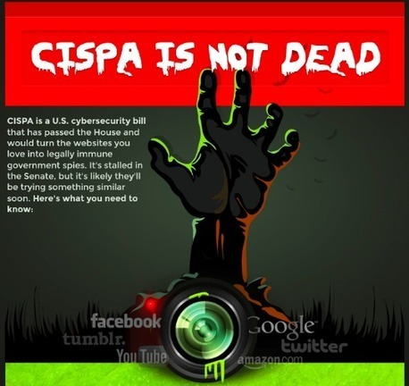 CISPA is NOT dead. Here's why... | An Eye on New Media | Scoop.it
