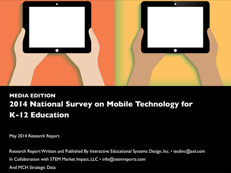Study: The Reality Of Mobile Technology In K-12 - TeachThought | Empowering e-Teachers | Scoop.it