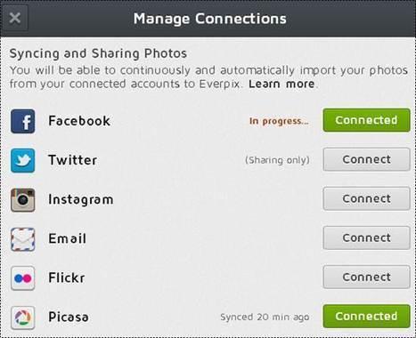 Everpix: regrouper les photos en un seul endroit | Time to Learn | Scoop.it